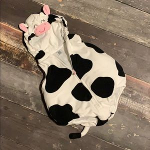 Carter's cow Halloween infant costume 6-9 months